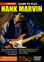 Hank Marvin: Lick Library: Learn To Play Hank Marvin [DVD]