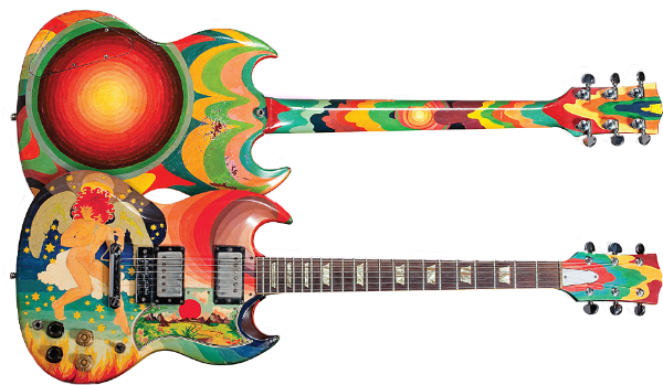 One Of The Worlds Best Known Guitars Fool Symbolizes Psychedelic Era Clapton Used Guitar Extensively While Playing With Cream And It Was An