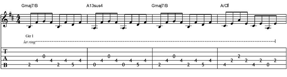 Metallicas Guitar Harmonies Guitar Lessons Ultimate Guitar