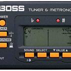 Boss: TU-80 Tuner & Metronome