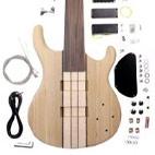 6 String Fretless Bass Guitar Kit