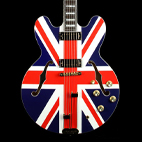 Epiphone: Limited Edition Union Jack Sheraton
