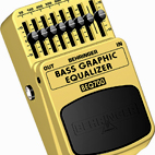 Behringer: BEQ700 Bass Graphic Equalizer
