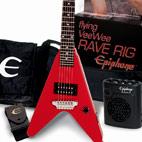 Epiphone: Flying Vee Wee Rave Rig