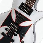 Epiphone: LP Iron Cross Baritone