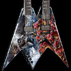 V Dave Mustaine Double Neck Diadem