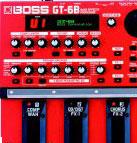 Boss: GT-6B Bass Effects Processor