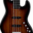 Squier: Deluxe Jazz Bass V Active