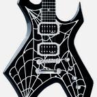 B.C. Rich: SE Warlock Metal Web