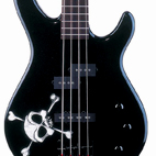 Squier: MB-4 Skull And Crossbones Bass