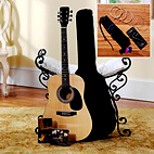 Deluxe Steel String Guitar Pack