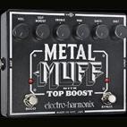 Electro-Harmonix: Metal Muff With Top Boost