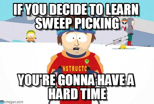 Guide to Sweep Picking