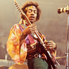 Jimi Hendrix and the Major Pentatonic Scale