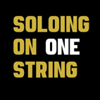Lead Guitar: Soloing on One String