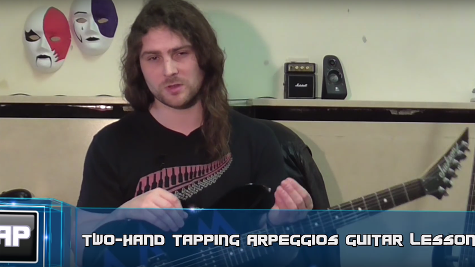 Guitar Tapping Lesson - Arpeggios
