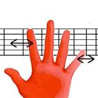 Fretting Hand Movements
