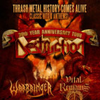 Destruction: '30th Year Anniversary Tour' North American Dates Announced