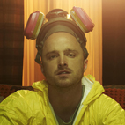 'Breaking Bad' Star Aaron Paul Wore Pope Francis Head During Arcade Fire's Coachella Set