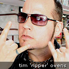 Hit The Lights: Tim 'Ripper' Owens: 'You Can Put Your Fists In The Air'