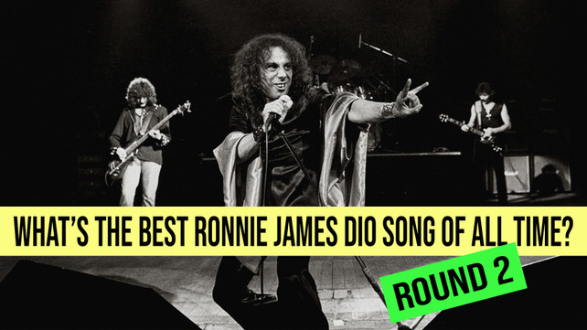 Round 2: What's The Best Ronnie James Dio Song Of All Time?