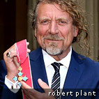 Robert Plant Honored With CBE