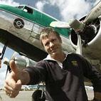 Iron Maiden Singer Bruce Dickinson Flies With TV's 'Ice Pilots'