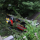 Baroness In Serious Bus Crash