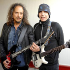 Joe Satriani Remembers Giving Guitar Lessons to Kirk Hammett: 'He Was Already Shredding'