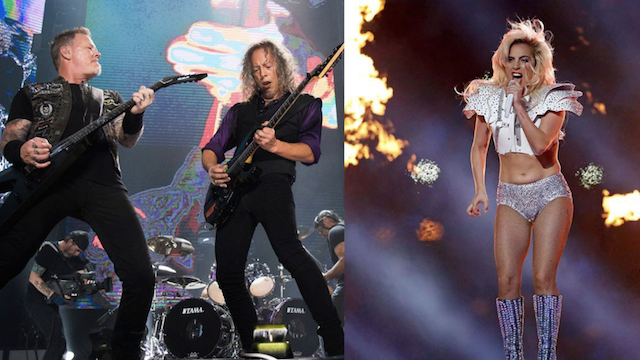 Metallica and Lady Gaga are performing at the Grammys together