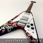 Guitar Center: Gibson Hendrix Psychedelic Flying V Guitars Sell Out In 7 Days