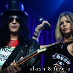 Fergie And Slash Play 'Sweet Child O' Mine'