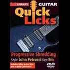 Lick Library Unleash Quick Licks: John Petrucci