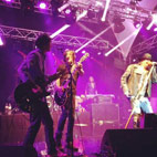 Izzy Stradlin Performs With Guns N' Roses In Saint-Tropez