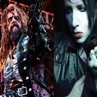 Rob Zombie/Marilyn Manson Feud Erupts On Stage