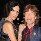 Mick Jagger Pays Tribute to L'Wren Scott at Hollywood Funeral