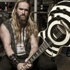 Zakk Wylde's Stolen Pelham Blue Bullseye Gibson LP Custom Guitar Recovered