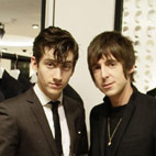 Alex Turner and Miles Kane Writing 1960s Set Film Inspired by 'X-Men'