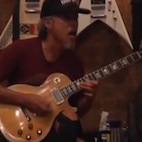 Watch: Kirk Plays His Legendary 1959 Les Paul While Recording 'Hardwired' Solo