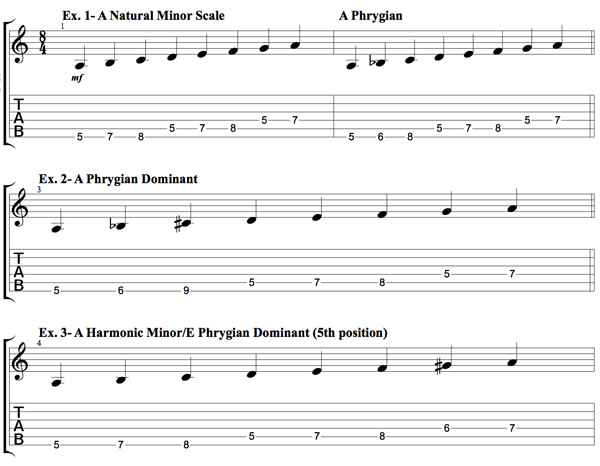 Decoding Phrygian Dominant | Guitar Lessons @ Ultimate