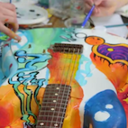 Sweet Axe: This Cake Guitar Can Actually Play Music