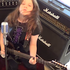 Watch: 11-Year-Old Kid Rocks Metallica's 'Spit Out the Bone'