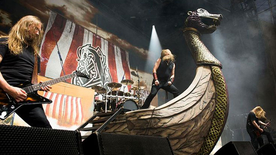 amon amarth bringing viking ship to chicago open air