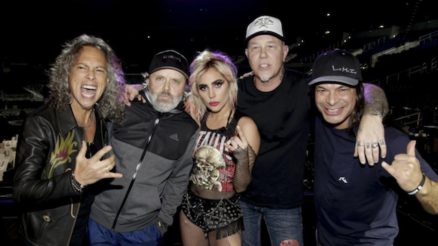 Metallica & Lady Gaga Will Perform 'Moth Into Flame' at the Grammys Tonight