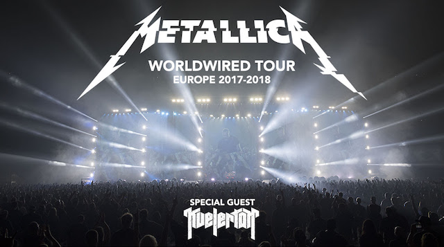 Metallica announce United Kingdom arena dates as part of 2017/18 European tour