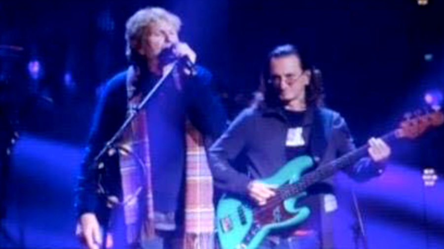 Geddy Lee Spotted Rehearsing 'Roundabout&#039 With Yes Ahead of Rock Hall Ceremony