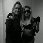 Lady Gaga Rocks To Queen & Iron Maiden