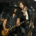 Slash Joins Aerosmith Onstage for Worst 'Welcome to the Jungle' Cover Ever