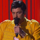 Sebastian Bach Transformed Into Queen's Freddie Mercury