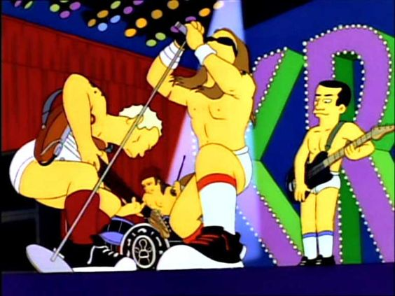 Top 10 Rock Star Cameos on 'The Simpsons'